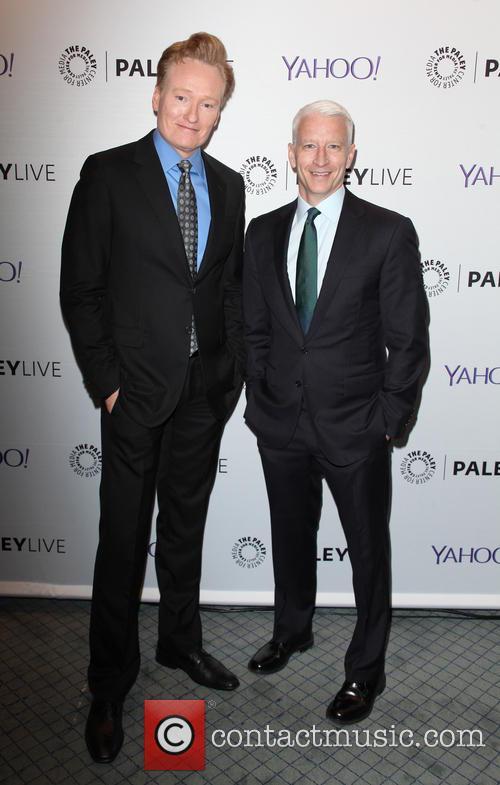 Anderson Cooper and Conan O'brien 2