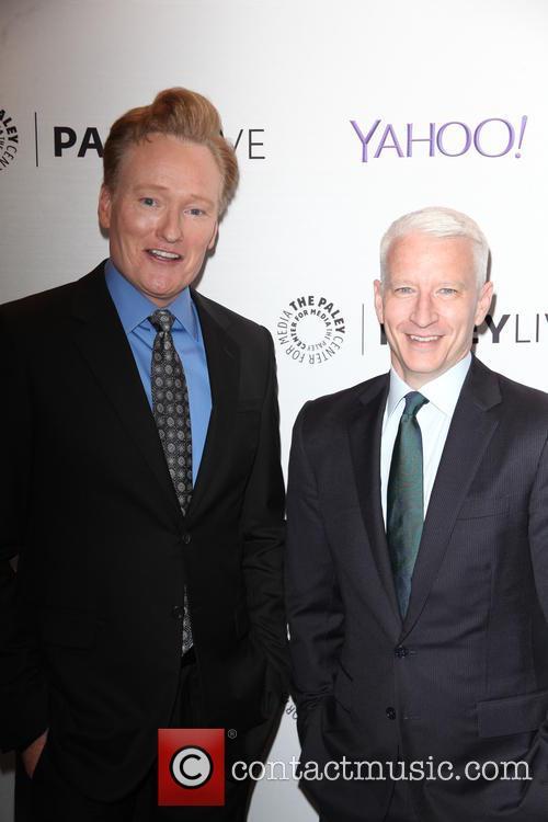 Anderson Cooper and Conan O'brien 1