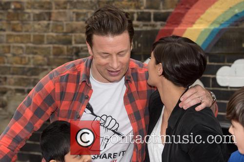Jamie Oliver and frankie Bridge 3