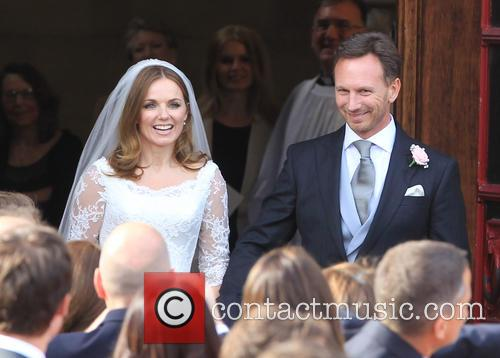 Geri Halliwell Ties The Knot In Less Than Spicy Wedding, As Only Baby Makes An Appearance
