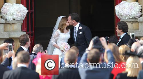 Geri Halliwell and Christian Horner 2