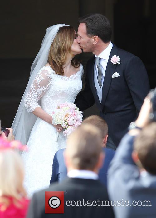 Geri Halliwell and Christian Horner 3