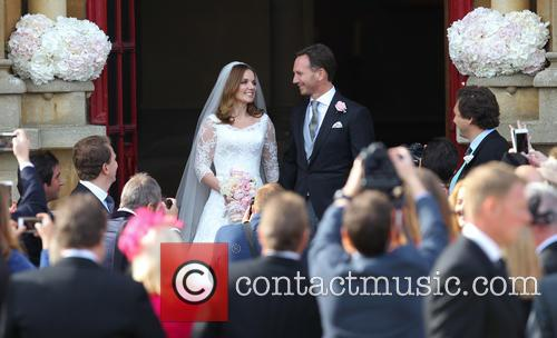 Geri Halliwell and Christian Horner 4