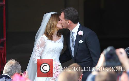 Geri Halliwell and Christian Horner 6