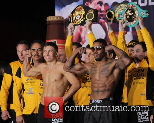 Gennady Golovkin and Willie Monroe Jr. 5
