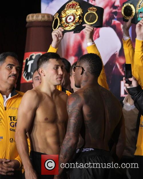 Gennady Golovkin and Willie Monroe Jr. 6