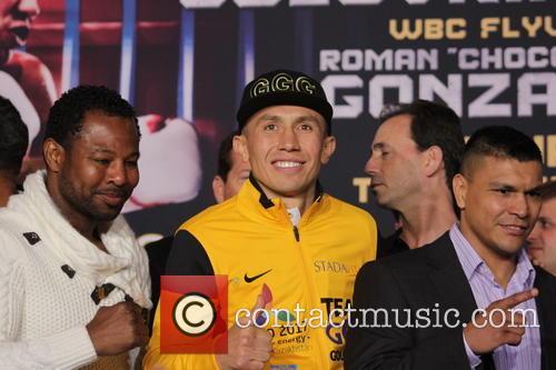 Gennady Golovkin and Shane Mosley 9