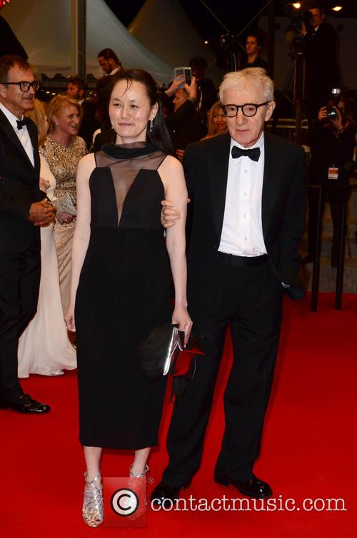 Woody Allen and Soon-Yi Previn at Cannes