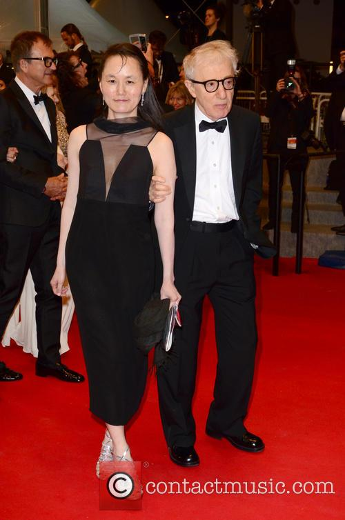 Woody Allen and Soon-Yi Previn at the premiere of 'Irrational Man'