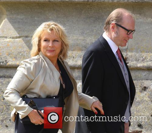 Jennifer Saunders and Adrian Edmondson 1