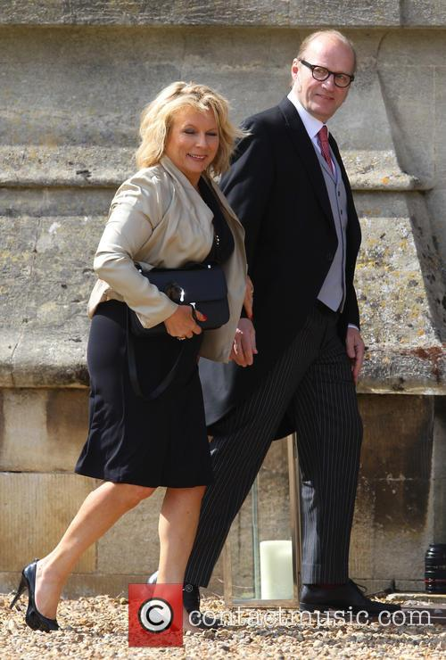 Jennifer Saunders and Adrian Edmondson 6