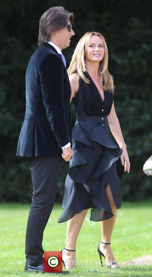 Amanda Holden and Chris Hughes 10