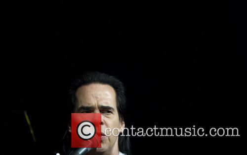 Nick Cave performs a sold out show at...