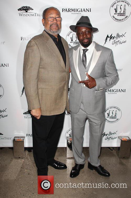 Richard Parsons and Wyclef Jean