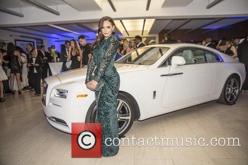 Rosie Roff at Black & White Bentley Affair