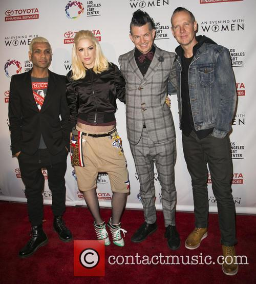 Tony Kanal, Gwen Stefani, Tom Dumont, Adrian Young and Of No Doubt 4