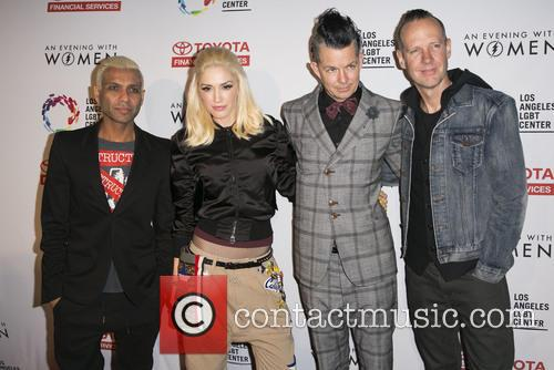 Tony Kanal, Gwen Stefani, Tom Dumont, Adrian Young and Of No Doubt 7