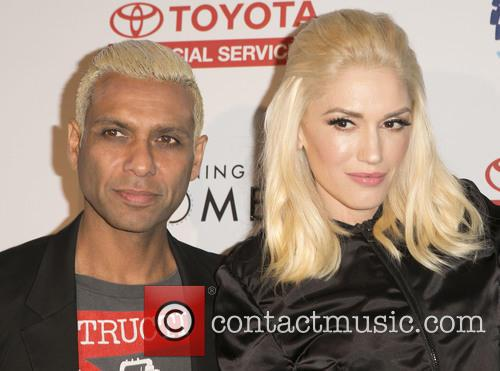 Tony Kanal and Gwen Stefani 8