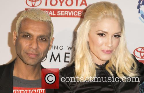Tony Kanal and Gwen Stefani 10
