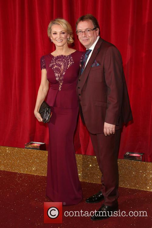 Gillian Taylforth and Adam Woodyatt
