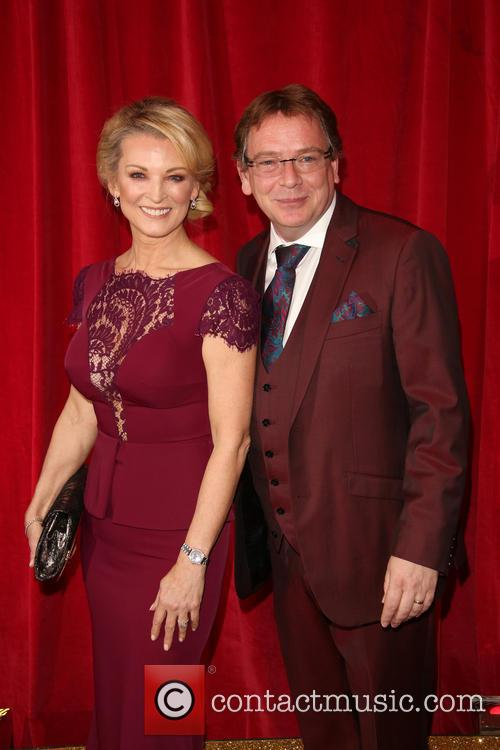 Gillian Taylforth and Adam Woodyatt 1