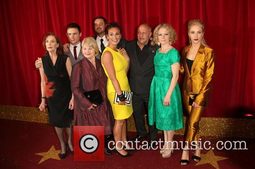Linda Marlow, Danny-boy Hatchard, Danny Dyer, Annette Badland, Luisa Bradshaw-white, Karl Howman, Kellie Bright and Maddy Hill