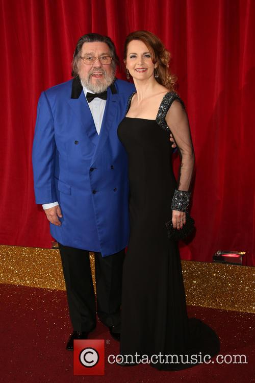 Ricky Tomlinson and Debra Stephenson