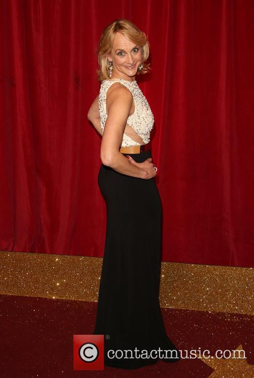 louise minchin the british soap awards 2015 6 pictures. Black Bedroom Furniture Sets. Home Design Ideas