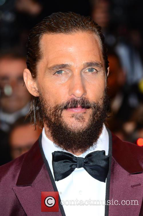 Matthew McConaughey at The Sea of Trees premiere