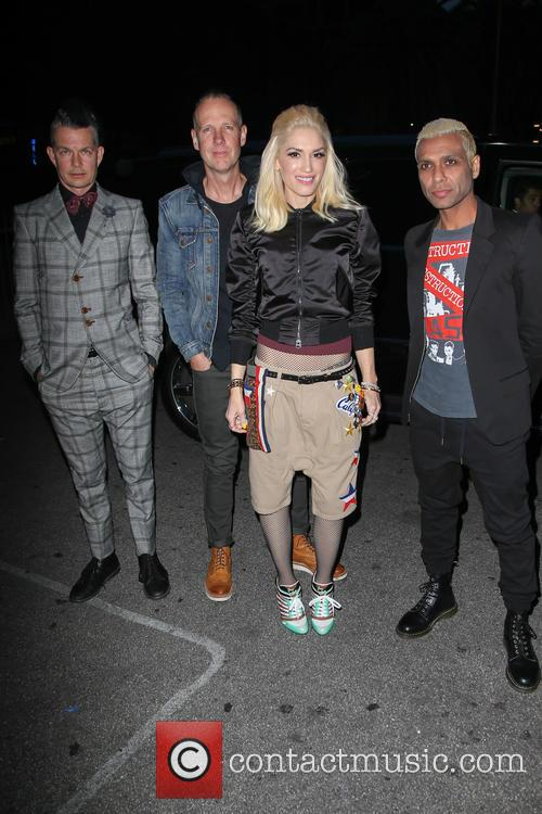 Tony Kanal, Gwen Stefani, Adrian Young and Tom Dumont