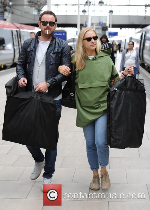 Maddy Hill and Danny Dyer 1