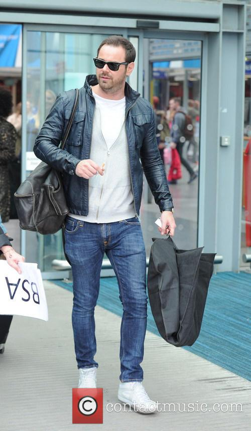 Soap stars arrive at Manchester Piccadilly Train Station