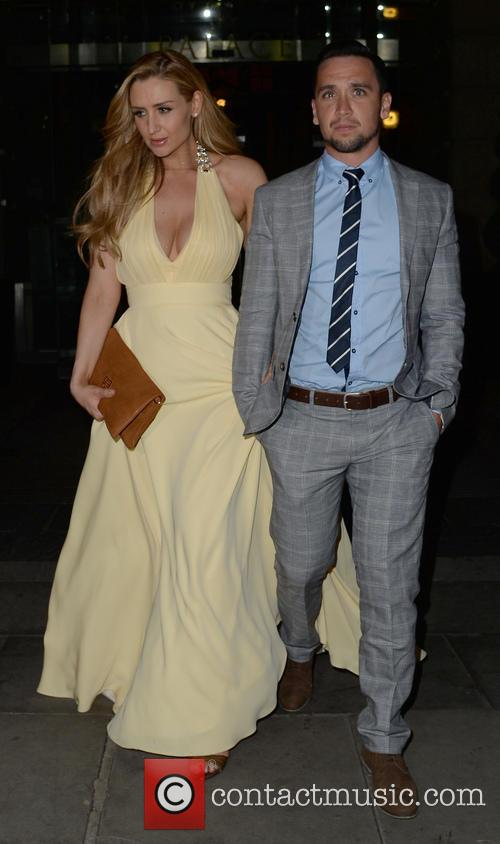Catherine Tyldesley and Tom Pitfield 11