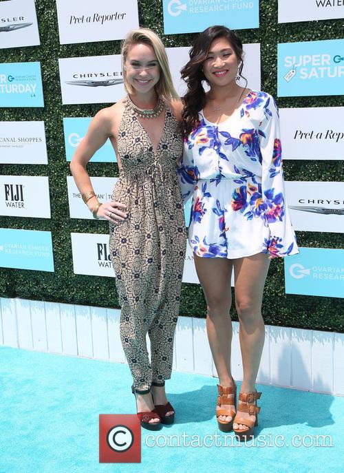 Becca Tobin and Jenna Ushkowitz 8