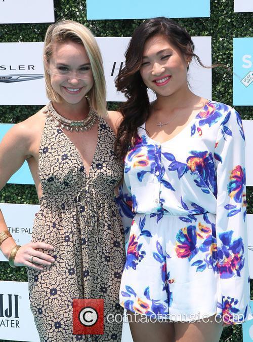 Becca Tobin and Jenna Ushkowitz