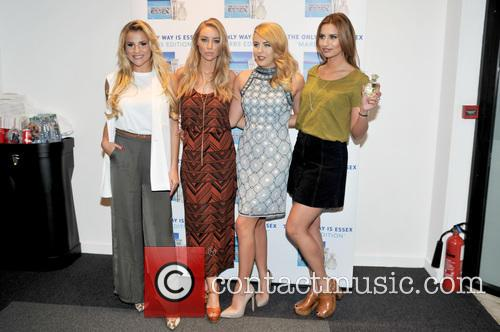 Georgia Kousoulou, Lauren Pope, Lydia-rose Bright and Ferne Mccann 5