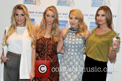 Georgia Kousoulou, Lauren Pope, Lydia-rose Bright and Ferne Mccann 6
