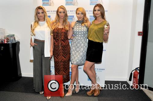 Georgia Kousoulou, Lauren Pope, Lydia-rose Bright and Ferne Mccann 7