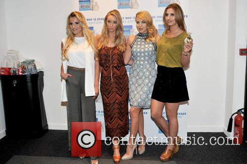 Georgia Kousoulou, Lauren Pope, Lydia-rose Bright and Ferne Mccann 9