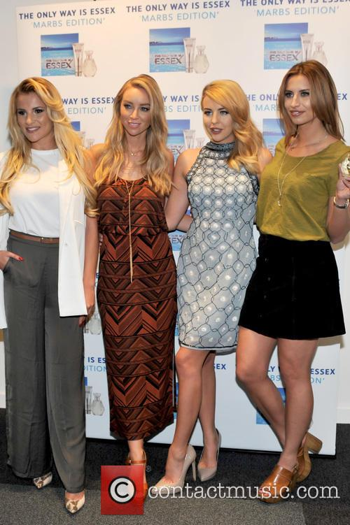 Georgia Kousoulou, Lauren Pope, Lydia-rose Bright and Ferne Mccann 10