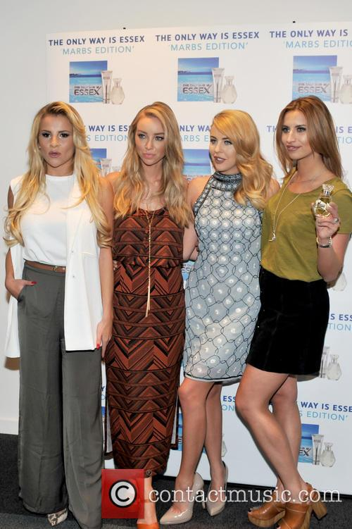 Georgia Kousoulou, Lauren Pope, Lydia-rose Bright and Ferne Mccann 11