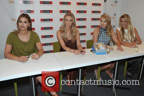 Ferne Mccann, Lauren Pope, Lydia-rose Bright and Georgia Kousoulou 8