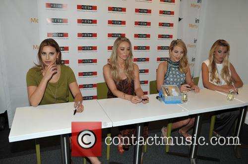 Ferne Mccann, Lauren Pope, Lydia-rose Bright and Georgia Kousoulou 9