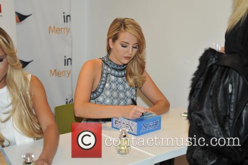 'TOWIE' stars promote Marbella Edition perfume at intu...