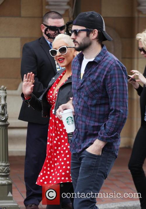 Christina Aguilera and Matthew Rutler 5