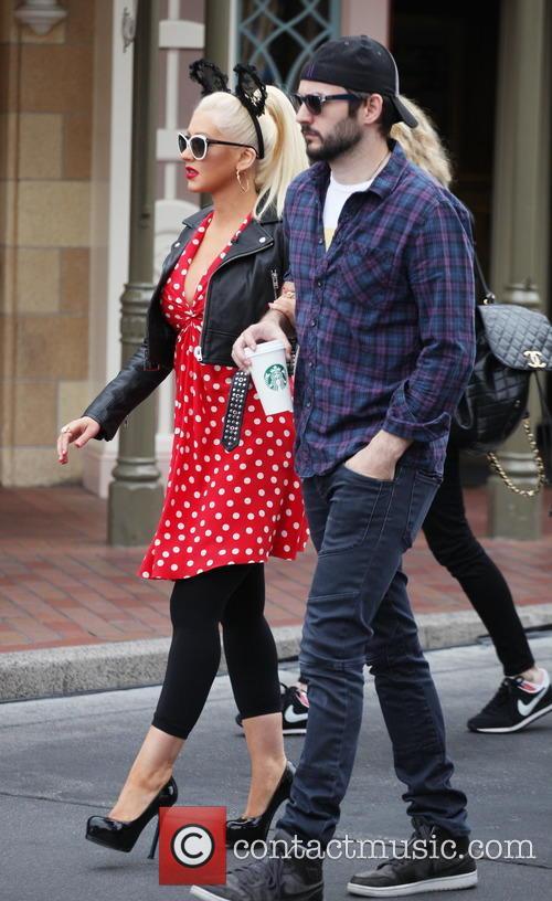 Christina Aguilera and Matthew Rutler 9