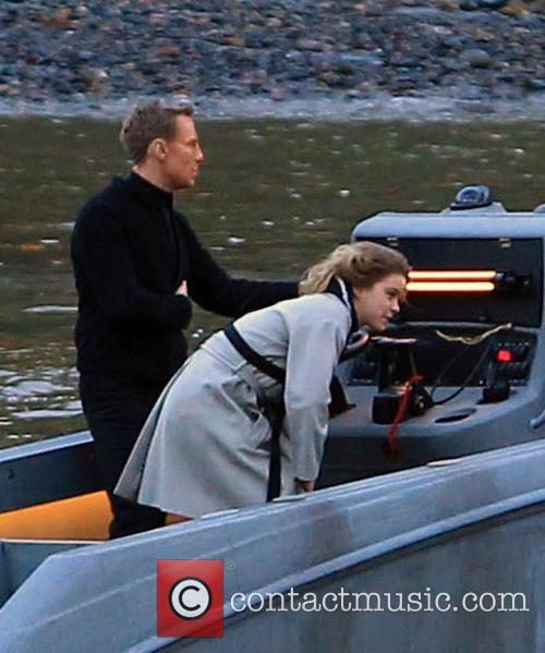 Stunt Double and Bond 6