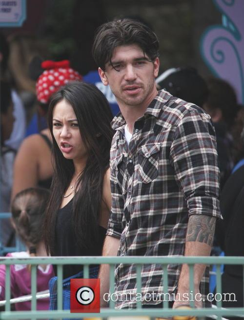 Janel Parrish at Disneyland