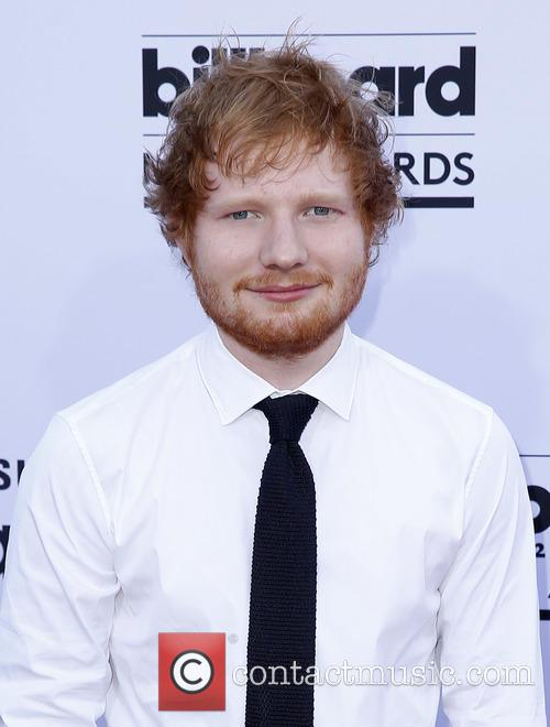 Ed Sheeran at the 2015 Billboard Music Awards