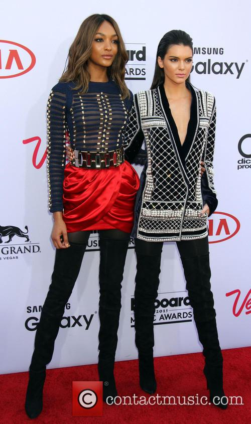 Jourdan Dunn and Kendall Jenner 2